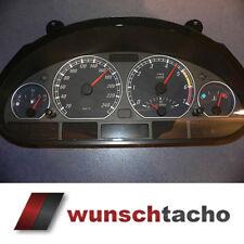 Tachoscheibe für Tacho BMW E46 Benziner *Elegance*  250 kmh