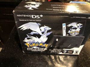 Nintendo-DSi-Pokemon-Black-Reshiram-amp-Zekrom-New-Sealed-Damaged-Box