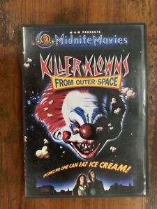 KILLER-KLOWNS-FROM-OUTER-SPACE-rare-US-DVD-cult-horror-Midnite-Movies-MGM