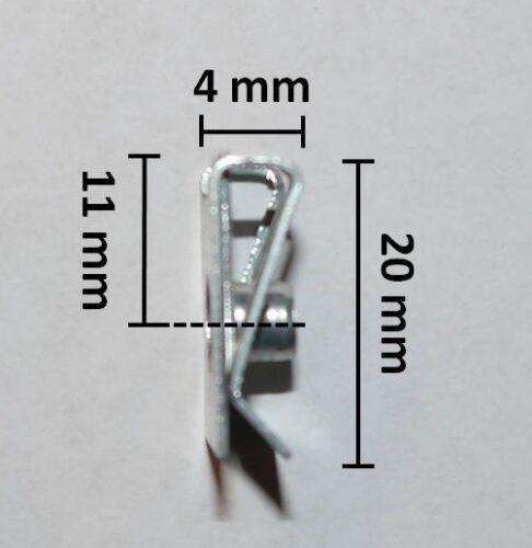 MOTORRAD VERKLEIDUNGSSCHRAUBEN CLIPS M5 SCHRAUBEN KLEMMEN 5x16mm 50 TEILE