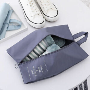 Waterproof-Portable-Shoe-Bag-Zipper-Travel-Tote-Toiletries-Laundry-Pouch-Storage