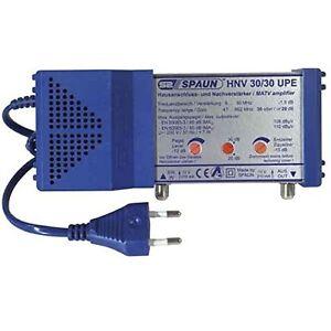Spaun-Electronic-HNV-30-30-UPE-SAT-Hausanschlussverstaerker-Nachverstaerker