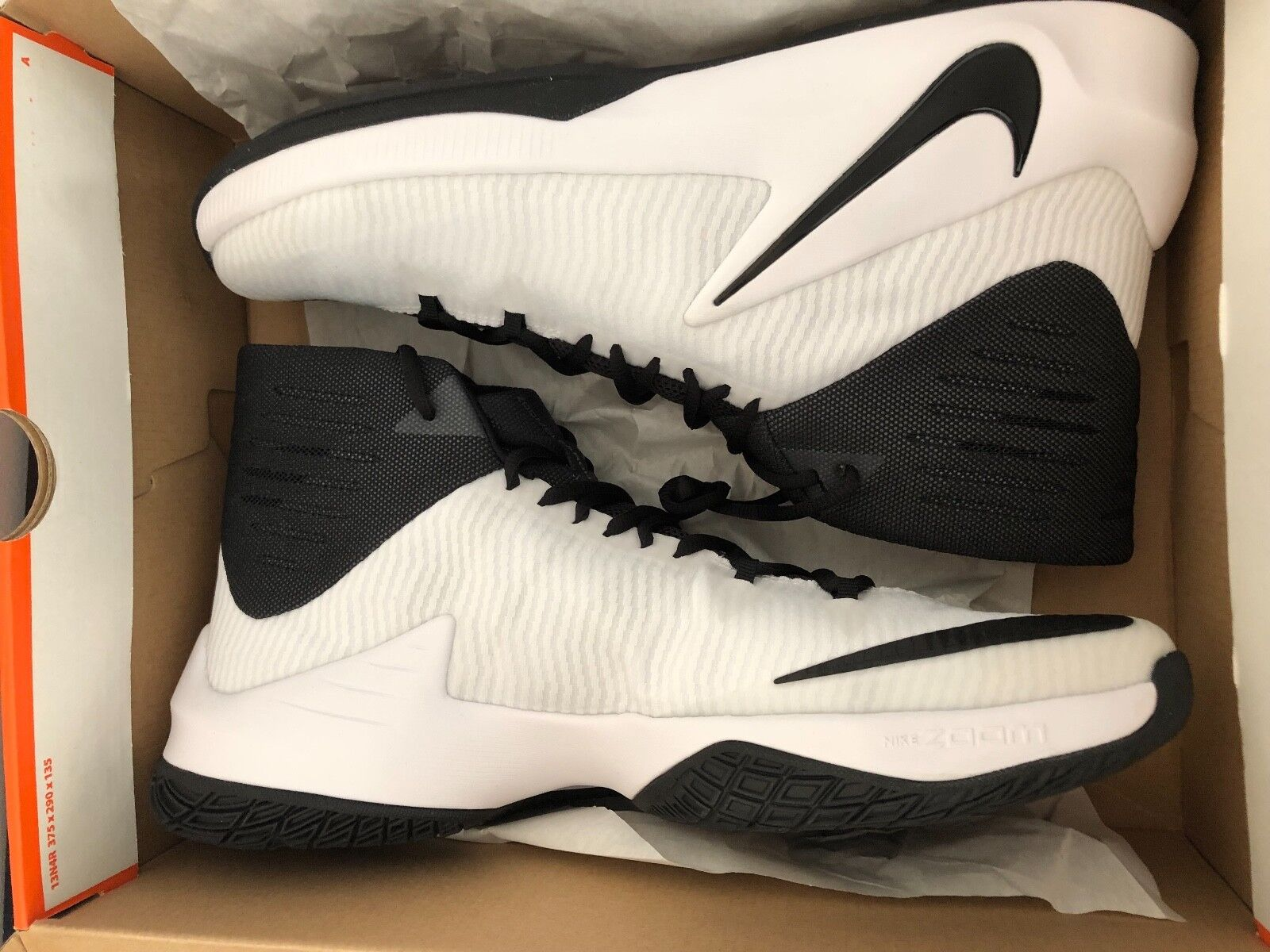 NIKE ZOOM CLEAR OUT TB PROMO  (856486-100) SIZE 15