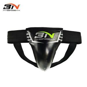Groin Guard Cup Protector Abdominal MMA Boxing Muay Thai Jockstrap Elastic Belt