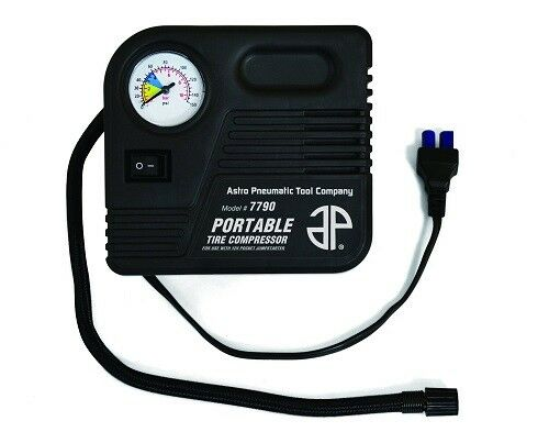 Astro Pneumatic 7790 Portable Tire Compressor for use w// 12V Pocket Jump Starter