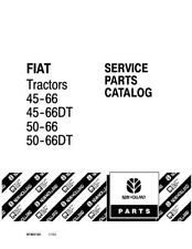 New Holland 45 66 50 66dt Fiat Tractor Parts Catalog