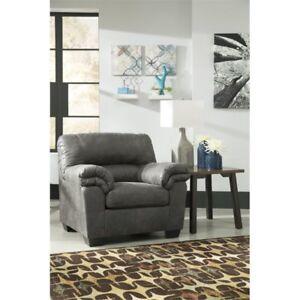 Wondrous Ashley Bladen Chair In Slate Finish 1200120 Dailytribune Chair Design For Home Dailytribuneorg