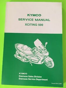 KYMCO-Xciting-500-Scooter-Service-Manual-NEW