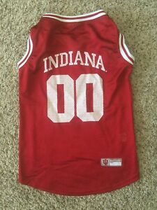 d7e0a71d716f Image is loading INDIANA-HOOSIERS-Pet-Dog-Jersey-00-Basketball-Pets-