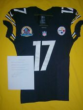 Mike Wallace Signed Pittsburgh Steelers Jersey