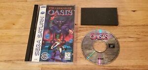 The-Legend-of-Oasis-Sega-Saturn-CD-Video-Game-Complete-Case-amp-Manual-CIB-Lot