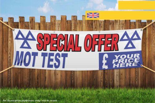 Special Offer MOT Test Custom Price Heavy Duty PVC Banner Sign 3292