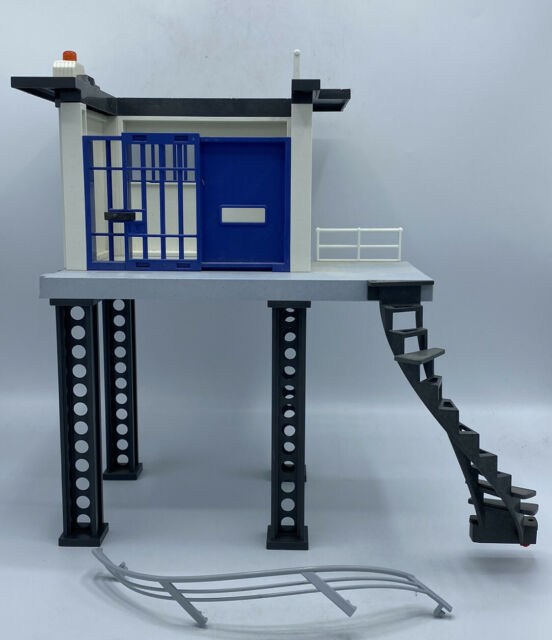 Playmobil City Action Police Station Jail Tower