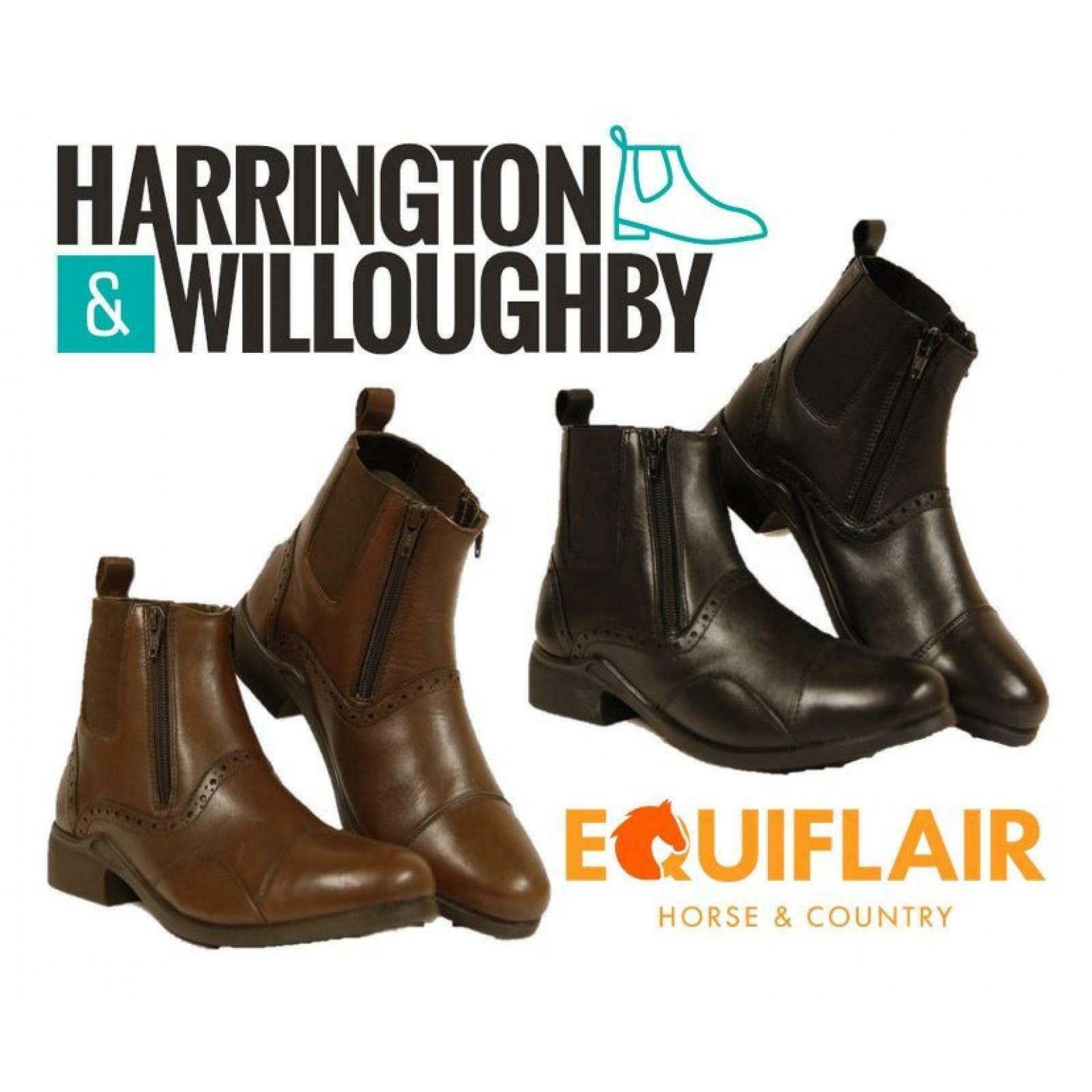 Harrington and Willoughby Denton Paddock Boot