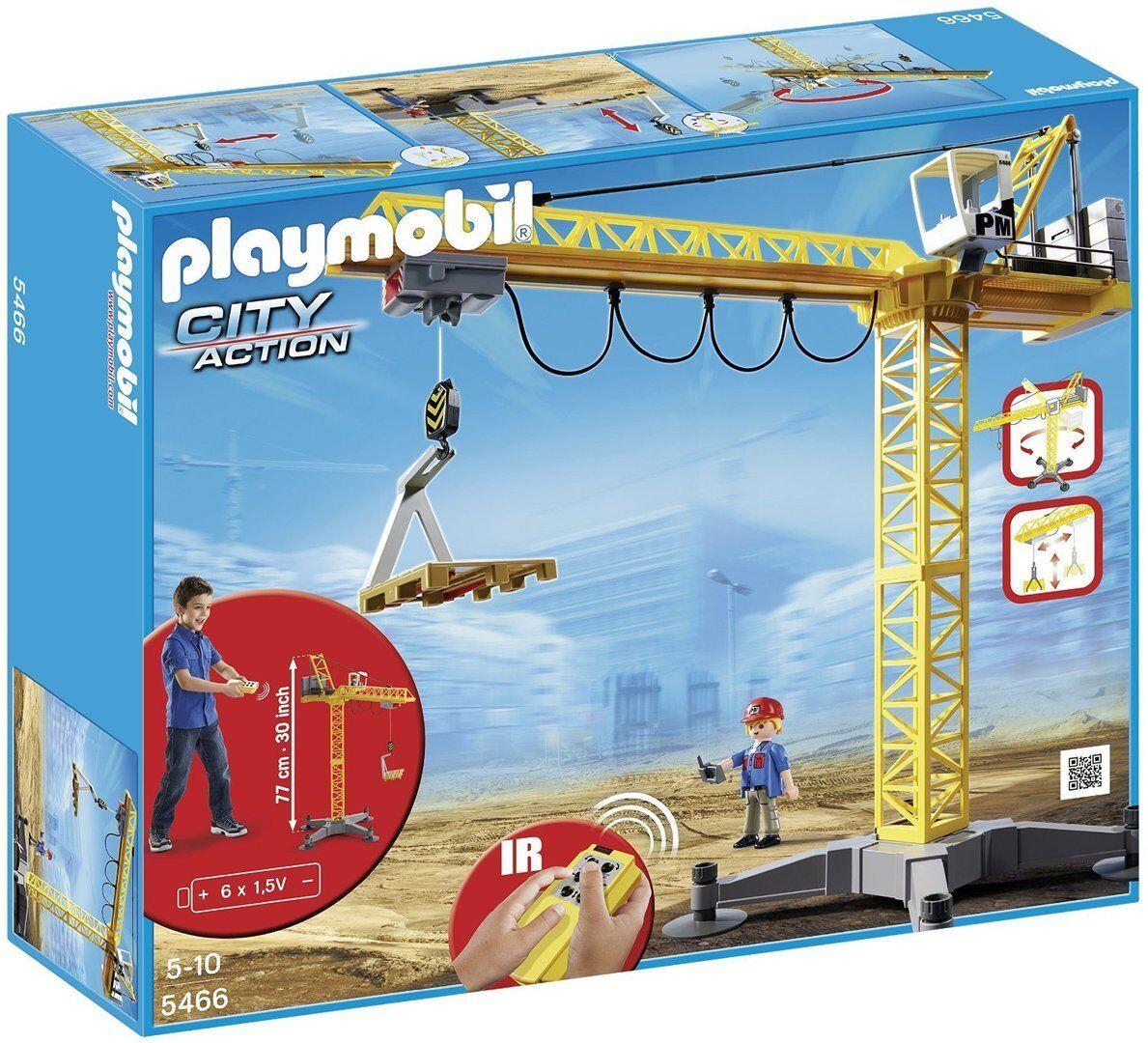 Playmobil 5466 - Grúa con Control Remoto - NUEVO