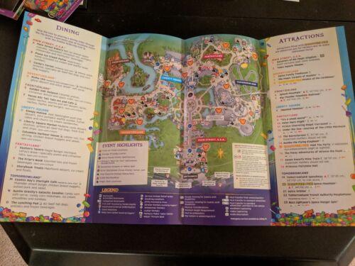 Disney World Mickey's Not So Scary Halloween Party MNSSHP 2018 Disney Park Map