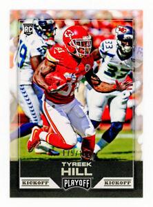 2016 NFL Playoff KICKOFF #283 Tyreek Hill ROOKIE CARD Kansas City Chiefs RC /199