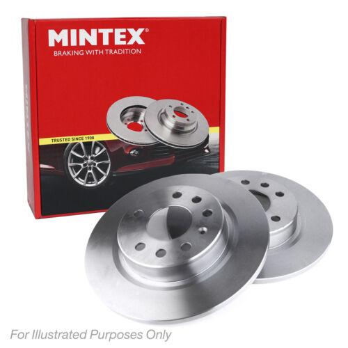 New Vauxhall Zafira MK2//B 1.7 CDTI Genuine Mintex Rear Brake Discs Pair x2