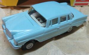 Faller-Ams-Etat-Neuf-Mercedes-220-Avec-Monobloc-Emballage-D-039-Origine