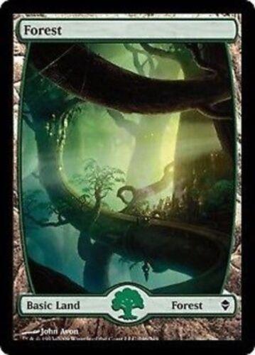 Extended Art FOREST FORESTA #246 Magic ZEN Mint Textless Full Art