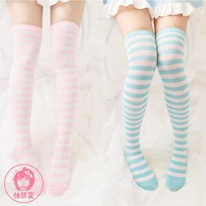 0d1bc9a958b Cute Moe Japanese Woman Anime Style Panties Stripe Stockings Cosplay ...