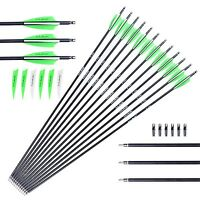 [targeting Arrows] M.a.k 30-inch 0.309 Inch Outer Diameter Carbon Outdoor Arc...