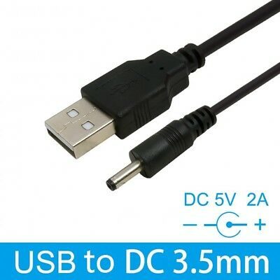 USB to 3.5mm Jack Connector DC 5V Power Supply Charger Adapter Cable Lead 80cm