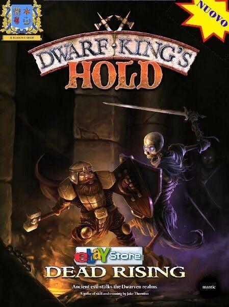 Dwarf King's Hold  Dead Rising - Mantic - Nuovo, Ed. Italiana fantasy gioco .