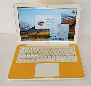 "BEAUTIFUL ORIGINAL Apple MacBook C2D 2.4GHz 13"" 500GB SSHD|8GB|OS 2017|WARRANTY"