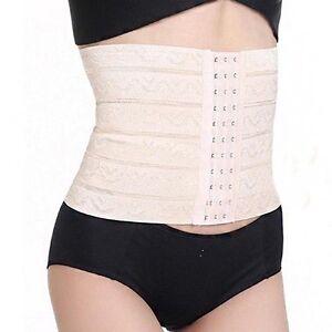 c6b9abd914 Image is loading EG-Women-Waist-Trainer-Slimming-Belly-Girdle-Belt-