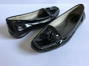 d4407192acc Sperry Top-Sider Womens Black Patent Leather Tassel Loafers Size 8.5 ...