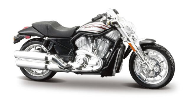 Harley-Davidson 2006 Vrscr Street Rod 1:24 Modelo de Motocicleta Fundición
