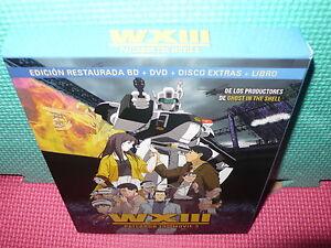 WXIII-PATLABOR-THE-MOVIE-3-BLU-RAY-DVD-LIBRO-DISCO-EXTRAS-NUEVO