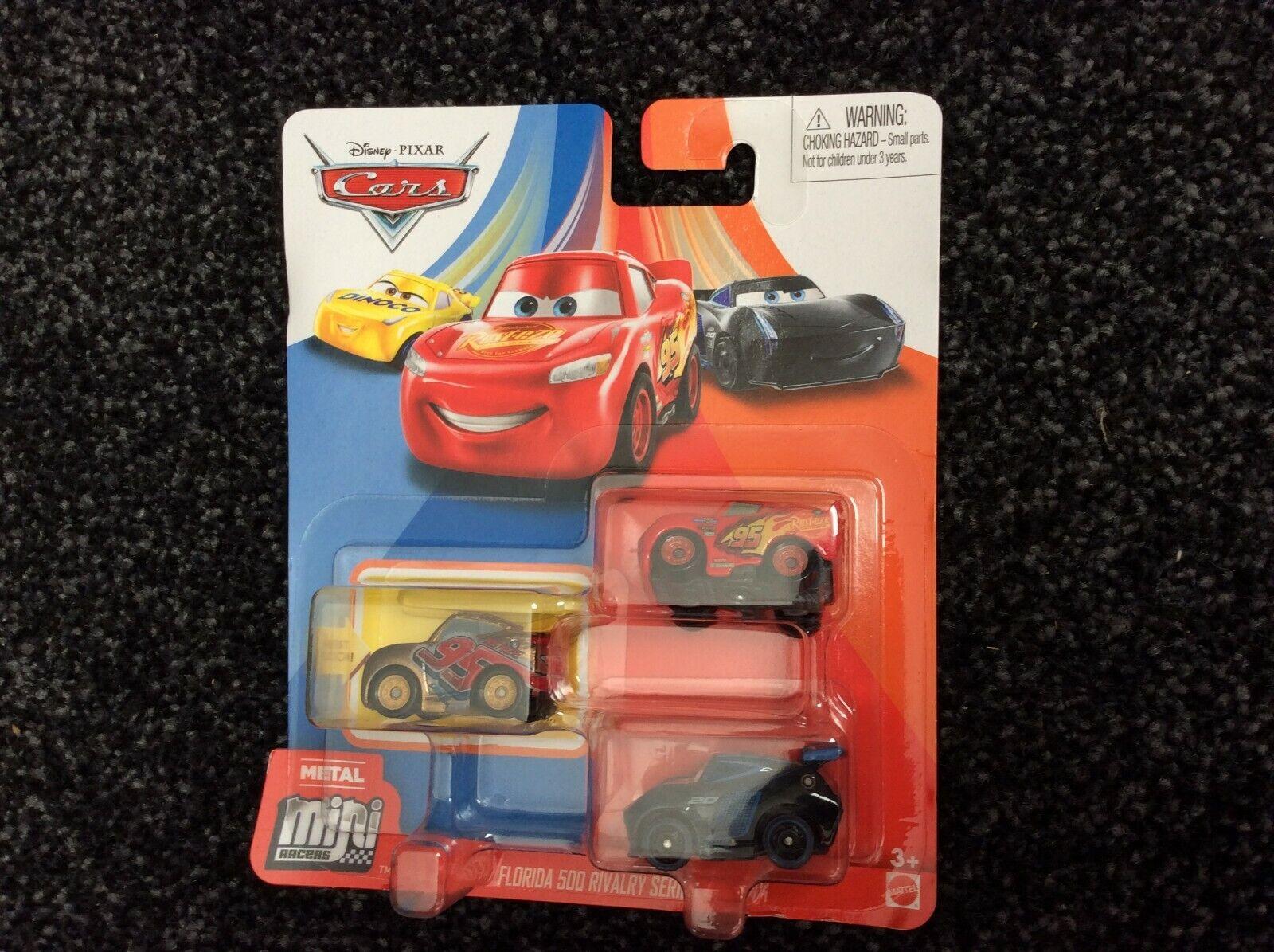 Disney Disney Pixar Cars Mini Racers Florida 500 Rivalry Series 3-Pack