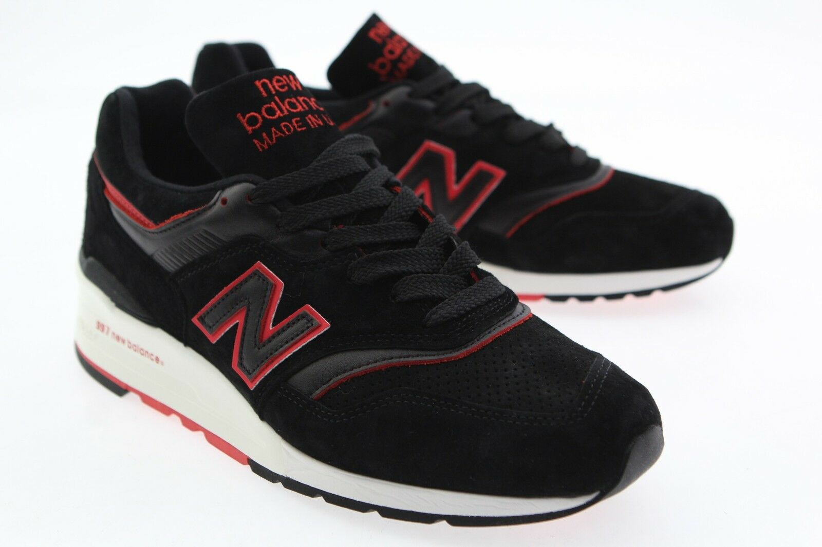 New Balance Men 997 Air Exploration M997DEXP - Made Made Made In USA black red M997DEXP 4f8874