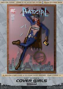 Batgirl of Burnside Pin-Up Sexy Cover Girls A3 Signed DC Comic Art Print Gotham