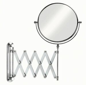 ikea mirrors bathroom ikea frack extendable magnifying bathroom mirror new ebay 13209