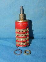 NEW Grayhill 71AD30-04-1-AJN Multi-Deck Rotary Switch 0.5-0.75 Diameter, ¼ A