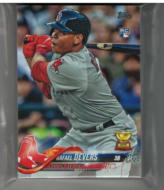 2018 Topps Series 1 2 Update Boston Red Sox Team Set (32 Cards) Betts Martinez