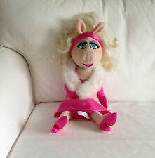 "Glamorous  Miss Piggy 20"" Soft Plush Doll   ©Disney"