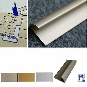 Abschlussprofil Aluminium Nr 370 Schrauben O Kleben Eloxiert