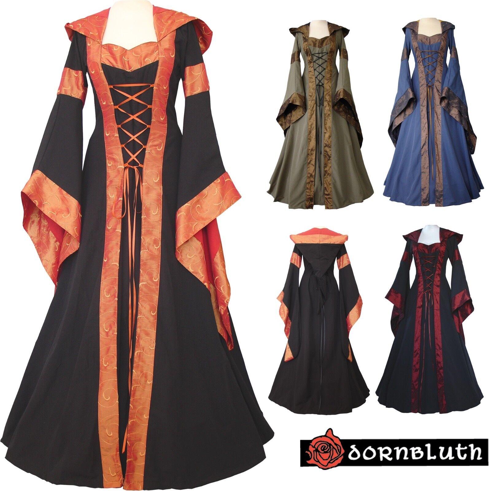 Mittelalter Gothik Karneval Kleid Gewand Kostüm Maria Maßanfertigung Farbwahl