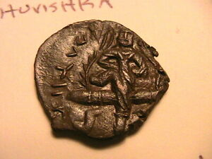 158-195-HUVISHKA-Kushan-Choice-XF-AU-Superb-Coin-Ancient-India-Copper-5-64-Gram