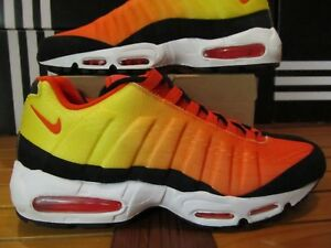 brand new 313ec 86739 DS Nike Air Max 95 EM SUNSET PACK Crimson Orange Yellow 13 554971 ...