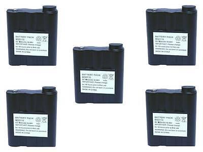 5 batteries pack 900Mah Battery compatible for Midland Radio G7 BATT-5R PB-ATLG7