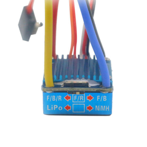 NEW Waterproof Brushed ESC 160A//320A//480A And 5V 1A//3A BEC T-Plug For RC Car JA