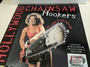 Hollywood Chainsaw Hookers - Roan Group Widescreen Collectors Edition Laserdisc