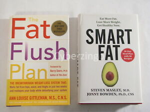 Fat Flush Plan Smart Fat Two Book Deal Diet Lose Weight Meal Plan Healthy Recipe Ebay