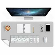 Dual Sided Desk Mat 24 X 60 Inch Extra Large Desk Writing Pad On Top Of Desks