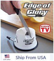 Edge Of Glory Knife Sharpener As Seen On Tv Worlds Best Knife Sharpener Us Ship